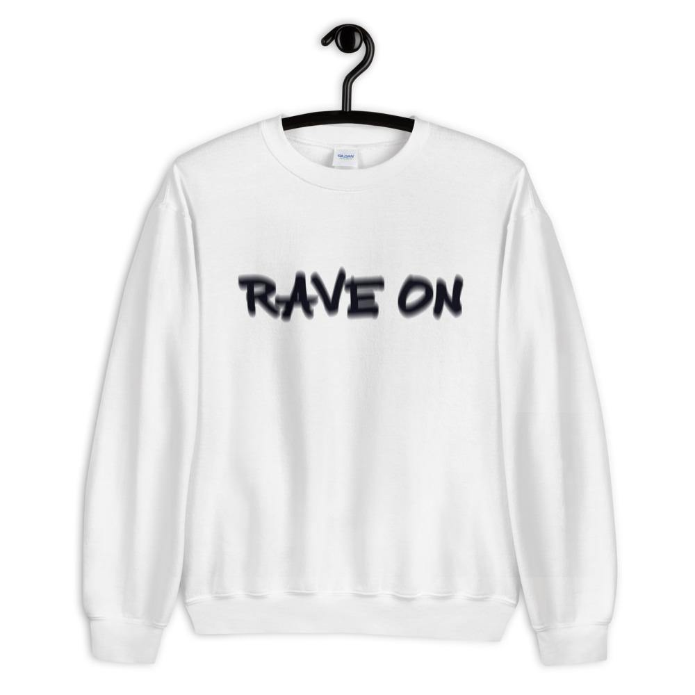 Rave On Visual Effect Sweatshirt