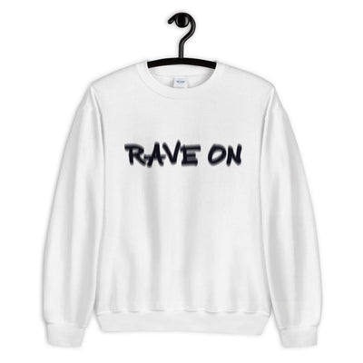 Rave On Visual Effect Sudadera | Techno Outfit