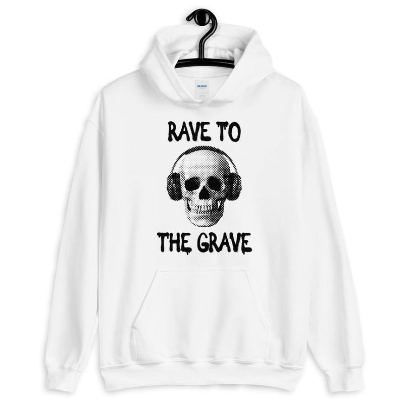 Rave To The Grave Sudadera con capucha | Techno Outfit