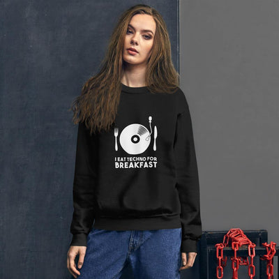 I Eat Techno For Breakfast Sweatshirt | Techno Outfit