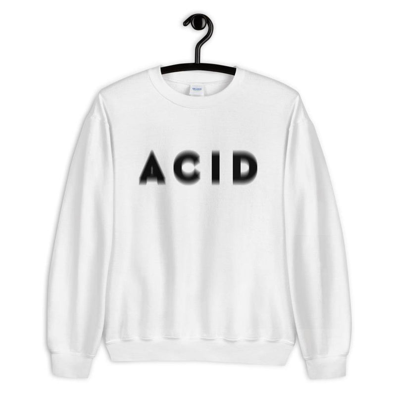 Acid Visual Effect Sweatshirts & Hoodies