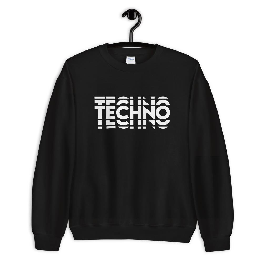 Techno Visuel Effect 2 Sweatshirt