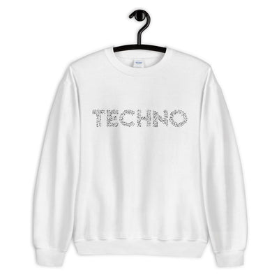 Sweatshirt Techno Music Notes