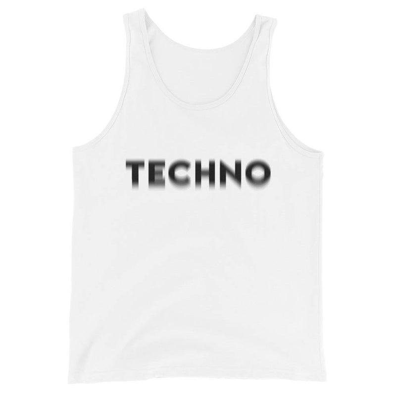 Camiseta de tirantes premium unisex Techno Visual Effect