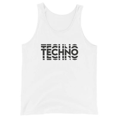 Camiseta de tirantes premium unisex Techno Visual Effect  2