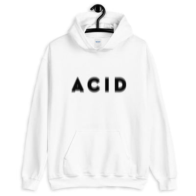 Acid Visual Effect Sudadera con capucha | Techno Outfit