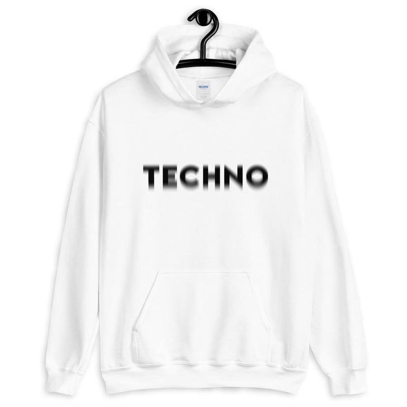Techno Visual Effect Hoodie | Techno Outfit