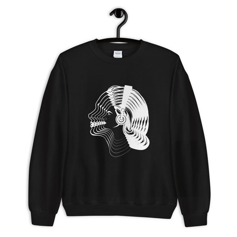 Women Visual Effect Sweatshirt