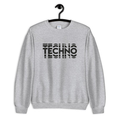 Techno Visuel Effect 2 Sweatshirt | Techno Outfit