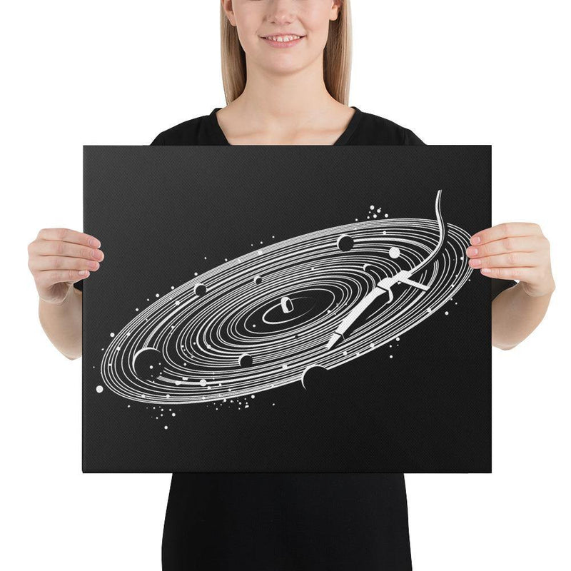 Vinyl Space Canvas