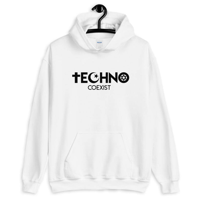 Sweat à capuche Techno Coexist