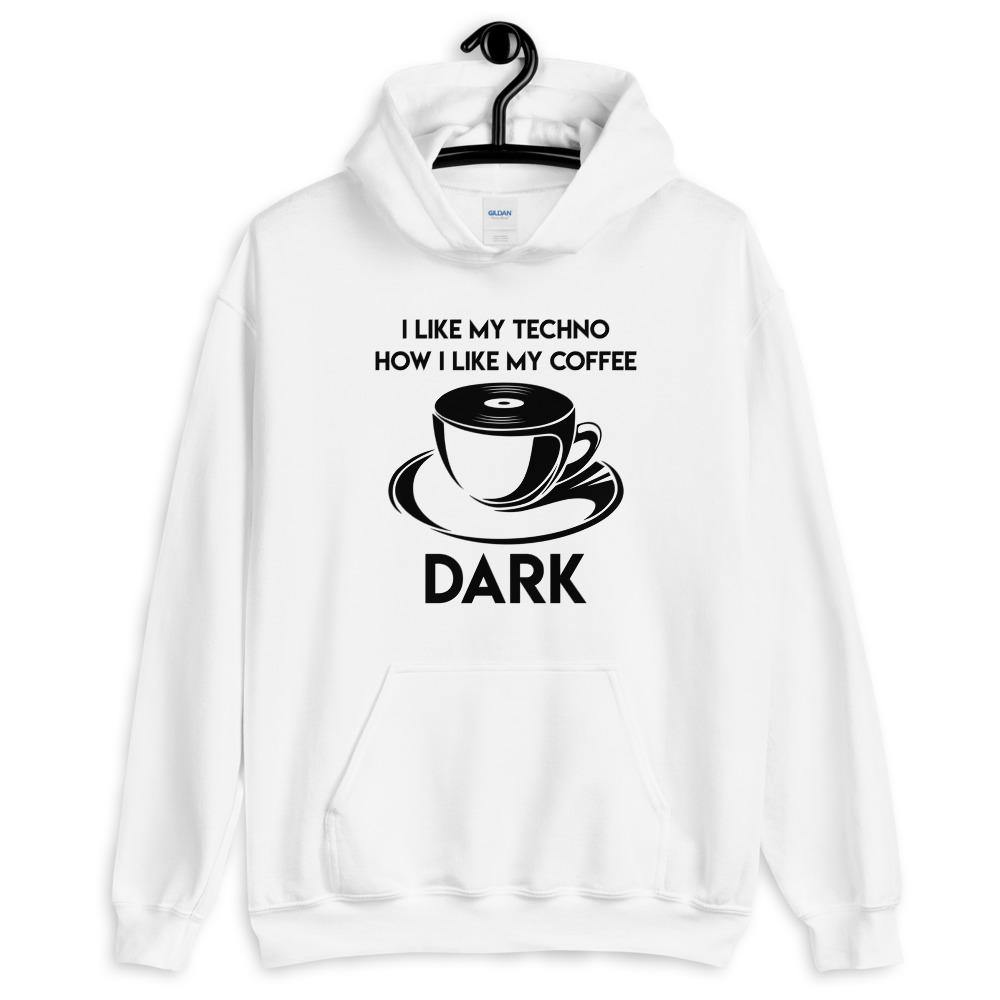 Techno Coffee Hoodie | Techno Outfit