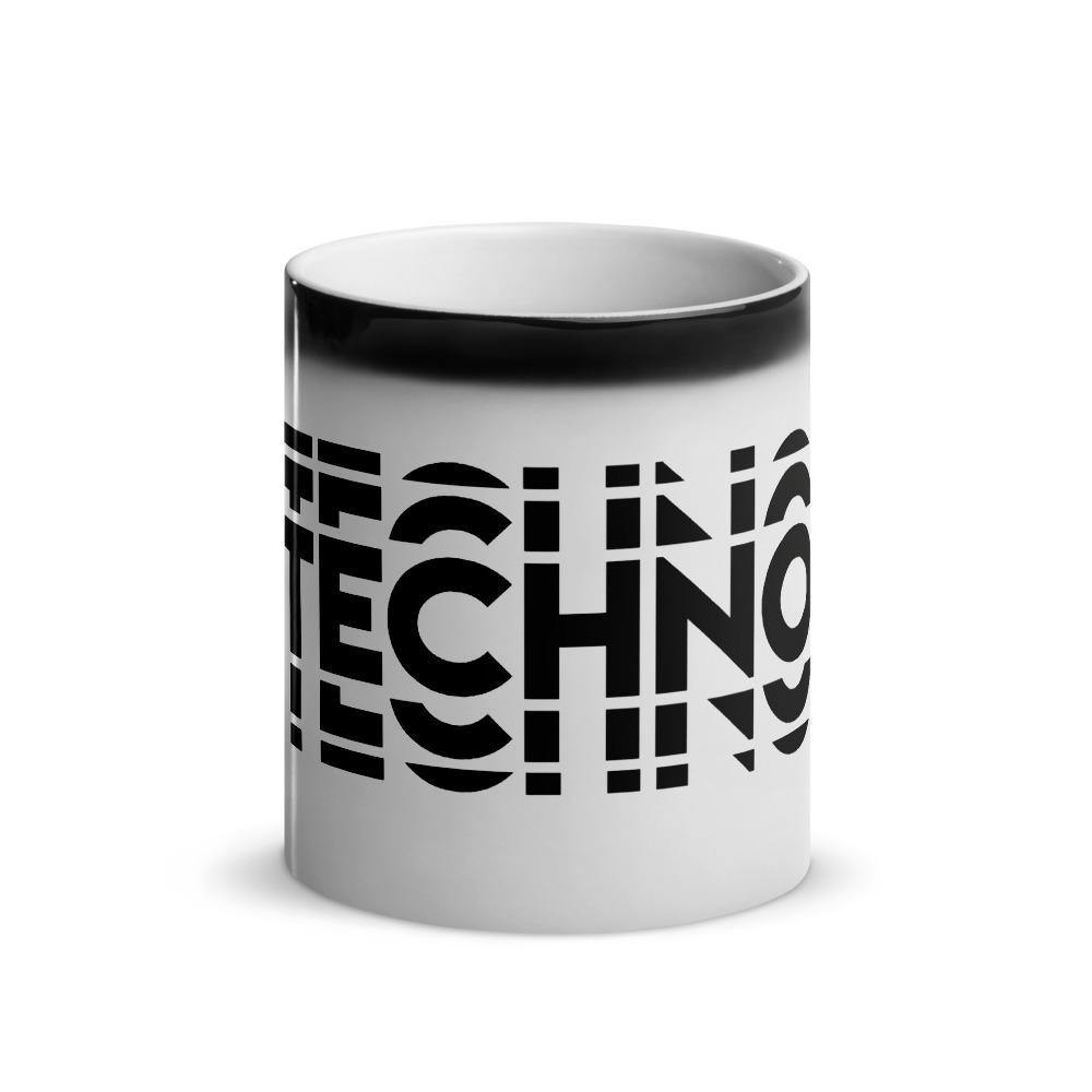 Techno Visual Effect 2 Magic Mug