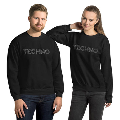 Sweatshirt Notes de musique techno