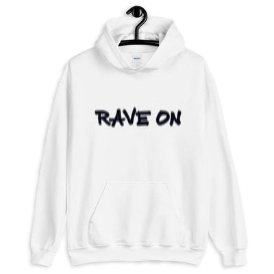 Rave On Visual Effect Sudadera con capucha | Techno Outfit
