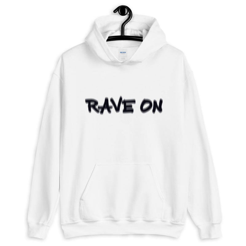 Rave On Visual Effect Hoodie | Techno Outfit