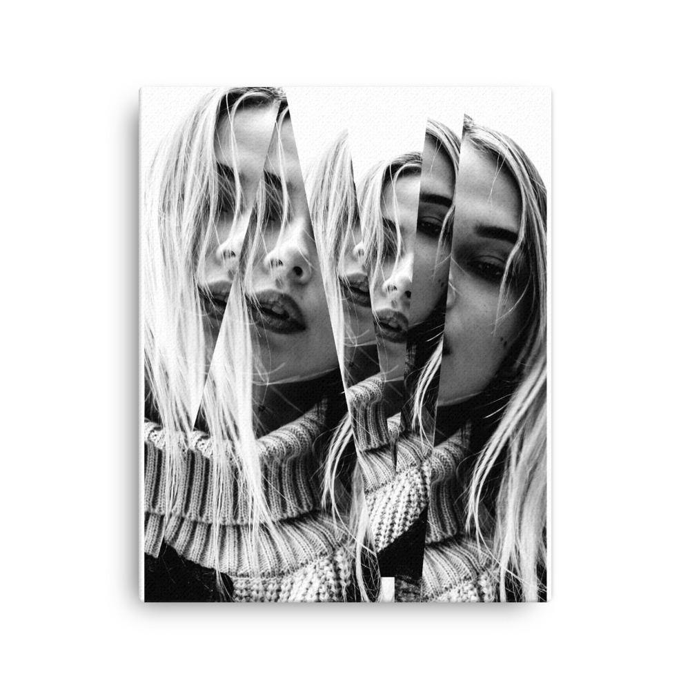 Women Visual Effect Canvas