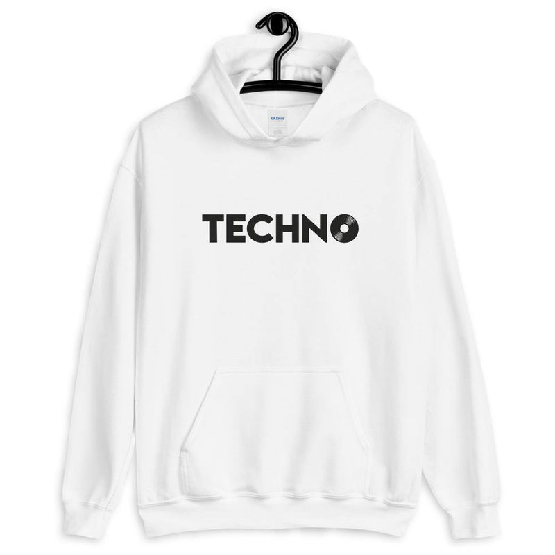 Techno Vinyl Hoodie | Techno Outfit