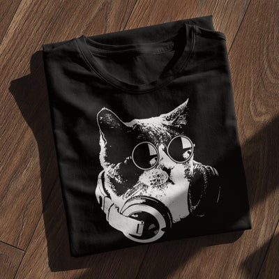 Softstyle Unisex T-Shirt Techno Cat | Techno Outfit