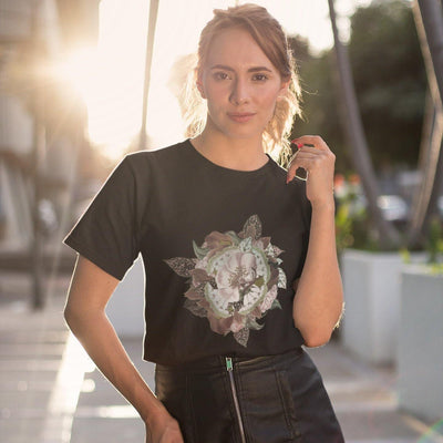 Softstyle Unisex T-Shirt Bio Abstract | Techno Outfit