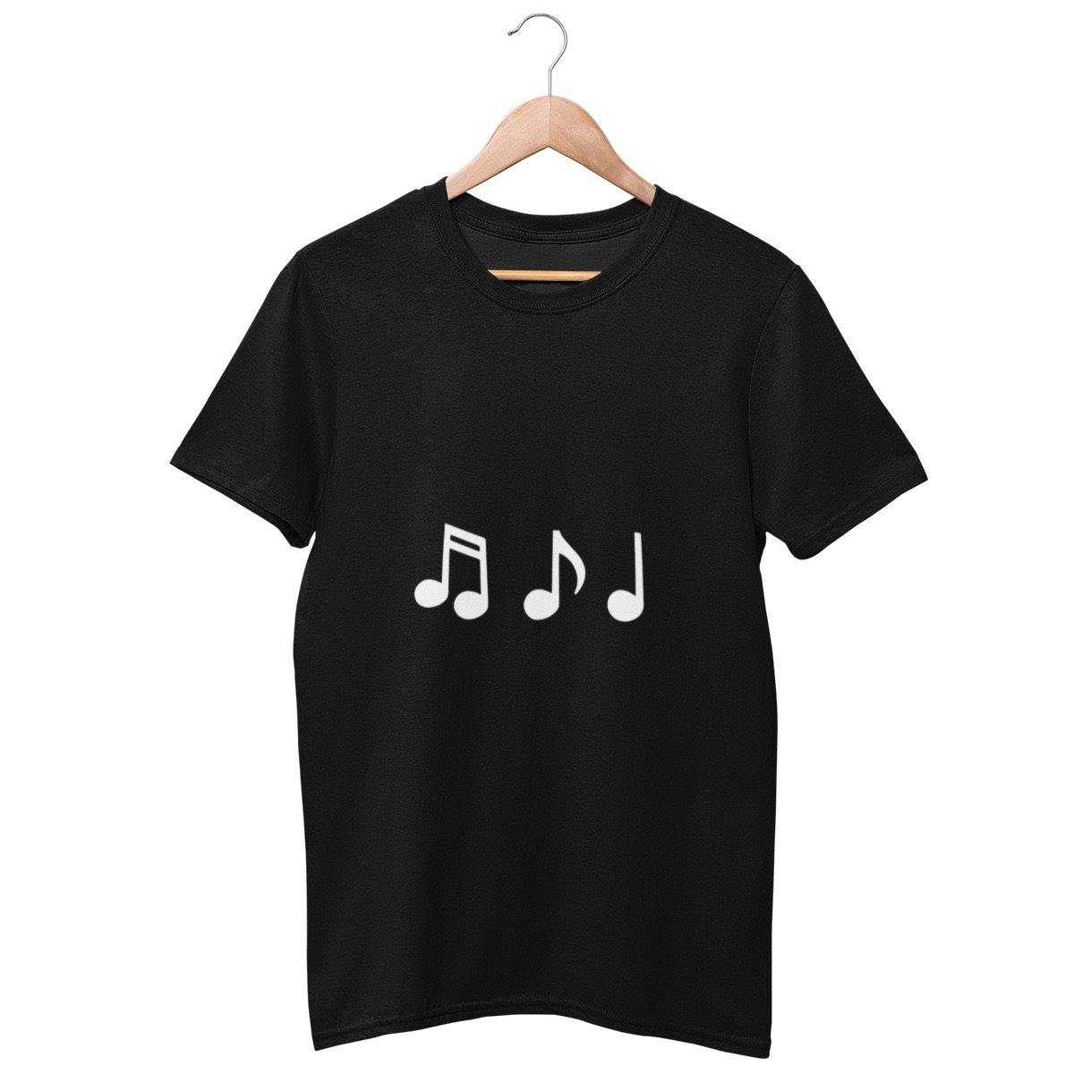 Couple Matching T-Shirt Music Notes