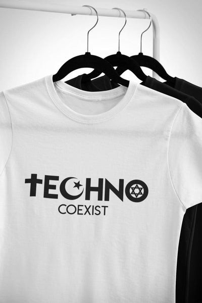 Softstyle Unisex T-Shirt Techno Coexist