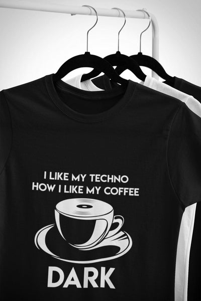 Softstyle Unisex T-Shirt Techno Coffee | Techno Outfit