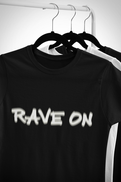 Softstyle Unisex T-Shirt Rave On Visual Effect