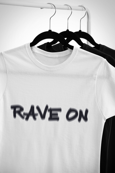 Camiseta unisex Softstyle Rave en efecto visual