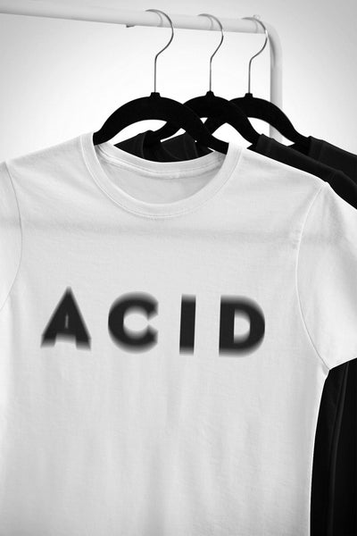 Softstyle Unisex T-Shirt Acid Visual Effect | Techno Outfit