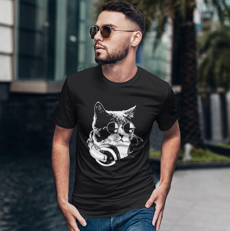 Camiseta unisex Softstyle Techno Cat | Techno Outfit