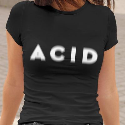 Camiseta de corte clásico Acid Visual Effect