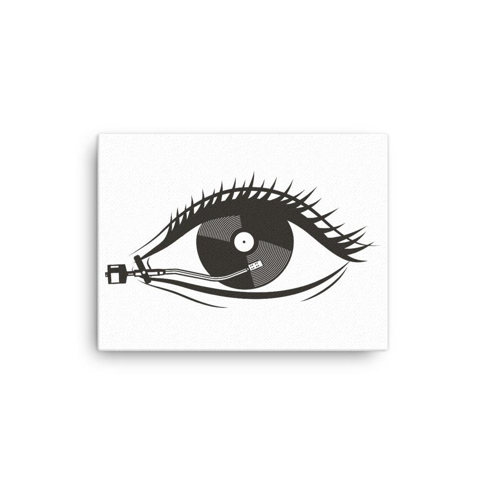 Vinyl Eye Canvas