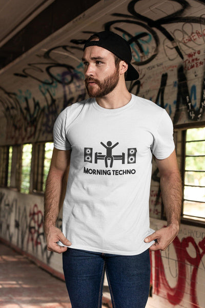Softstyle Unisex T-Shirt Morning Techno