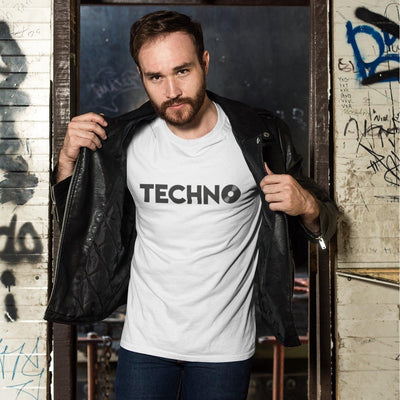 Softstyle Unisex T-Shirt Techno Vinyl | Techno Outfit