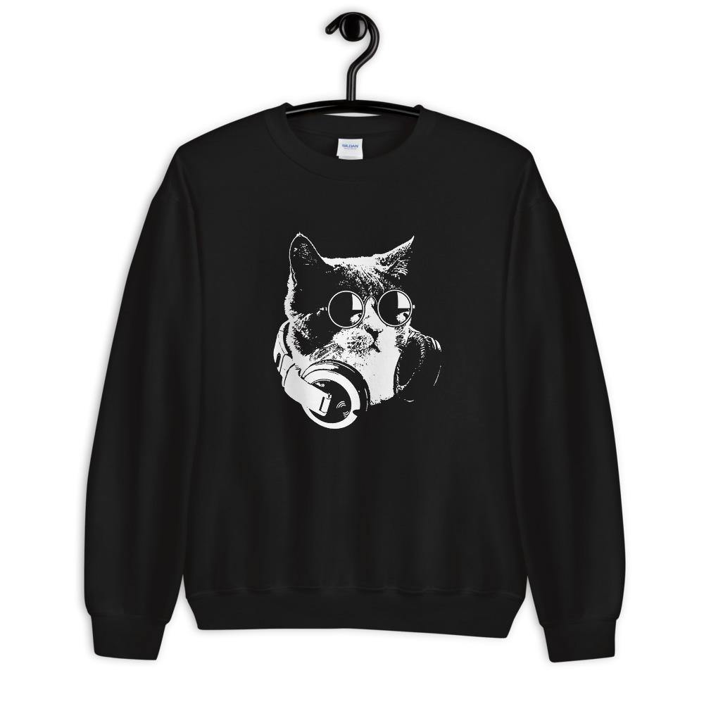 Techno Cat Sweatshirt | Techno Outfit