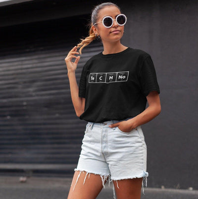 Softstyle Unisex T-Shirt Techno Periodensystem | Techno Outfit