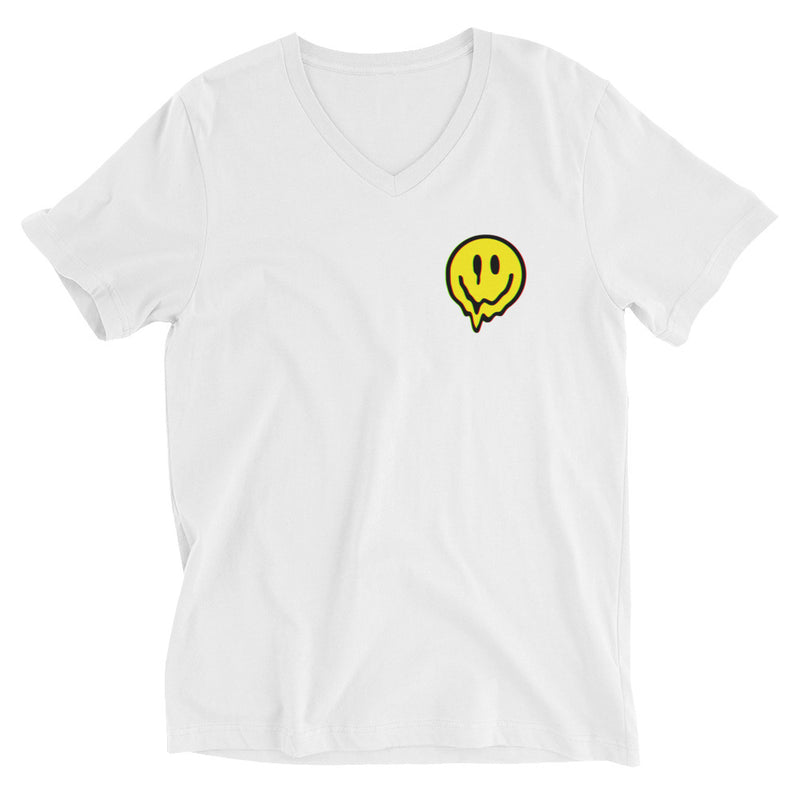 Camiseta de tejido mixto Acid Smiley