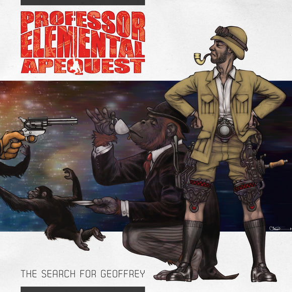 Professor Elemental - Apequest - CD