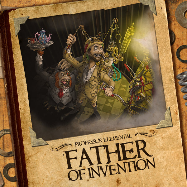 Professor Elemental - Father Of Invention - CD