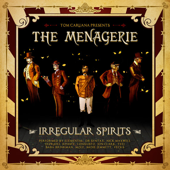 The Menagerie - Irregular Spirits (CD/Vinyl - £4/£8)
