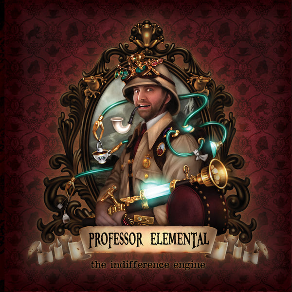 Professor Elemental - The Indifference Engine Deluxe - Gatefold Vinyl LP with 2xCD