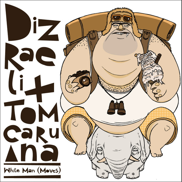 Dizreali & Tom Caruana - White Man Moves - CD
