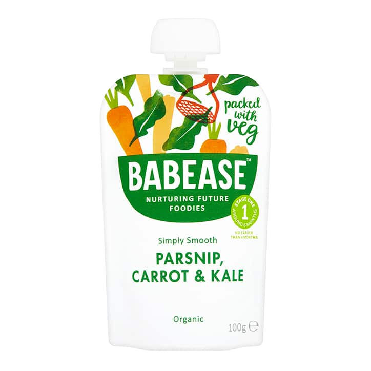 Babease Organic Food Pouches, 4-6+ months (with purchase)