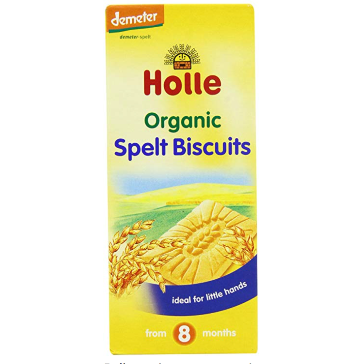 Holle Organic Spelt Biscuits 150 g (with purchase)