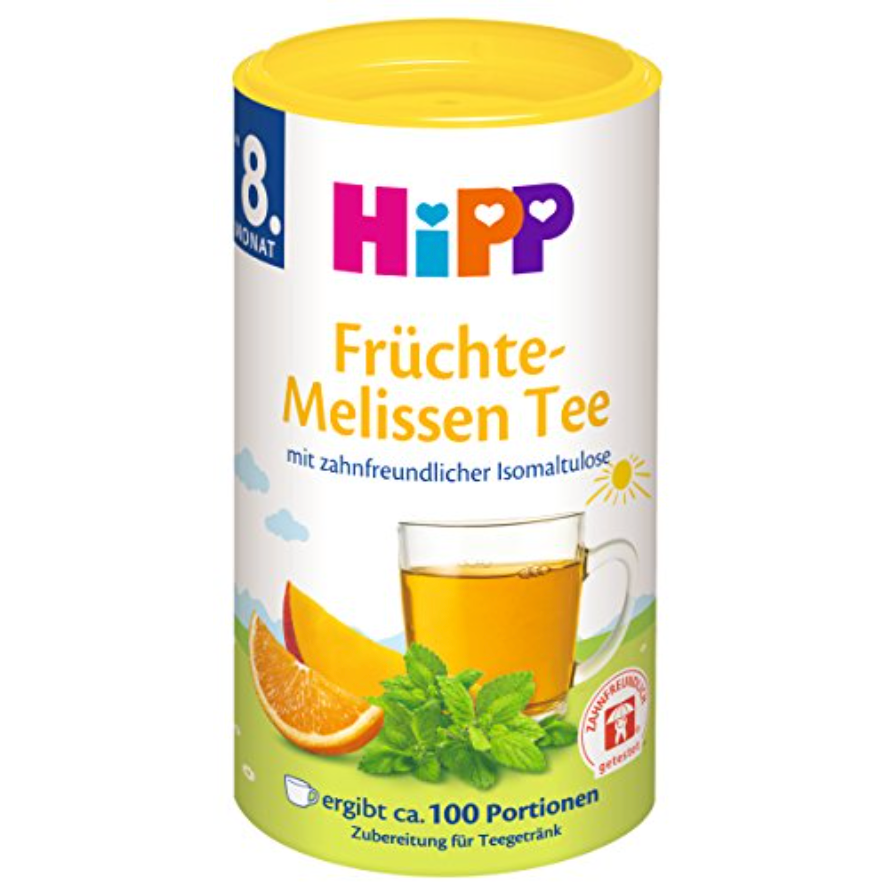 HiPP Fruits & Lemon Balm Tea (with purchase)