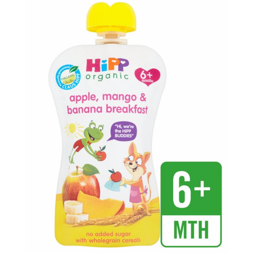 HiPP Food Pouches: 6 months, pack of 5 (with purchase)