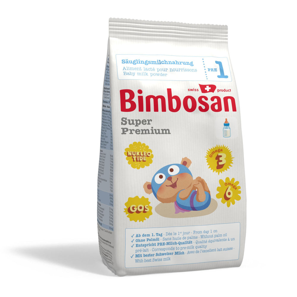 Bimbosan Super Premium Infant Formula, Stage 1 (refill pack- no scoop)