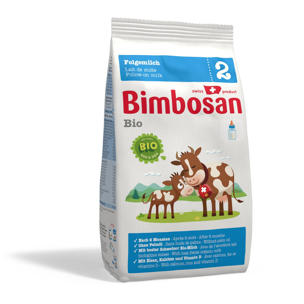 Bimbosan Organic Follow-on Milk, Stage 2 (refill pack- no scoop)