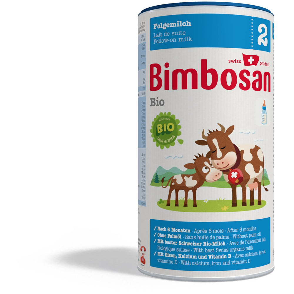 Bimbosan Organic Follow-on Milk, Stage 2